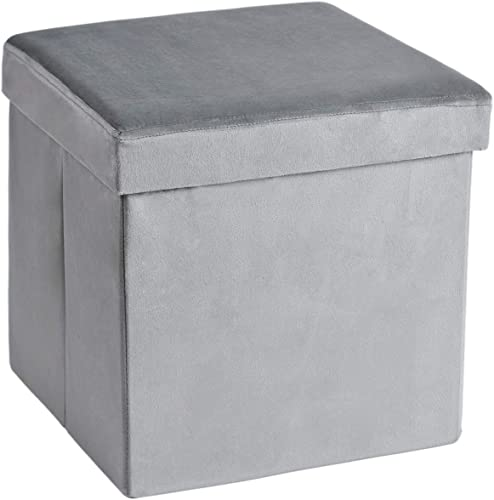 13.8 inches Storage Ottoman Cube