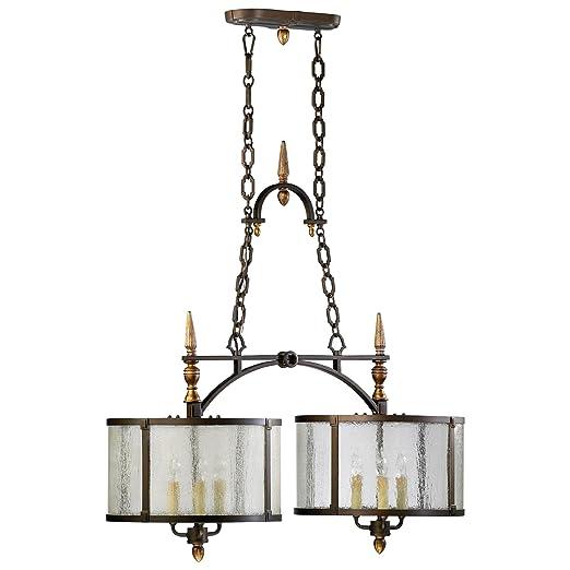 Amazon.com: CIAN diseño 04650 San Giorgio 6 luz 1 Tier ...
