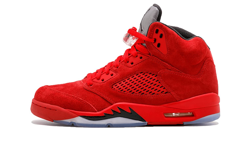 4da3f502e9a Air Jordan 5 Red Suede Shirt | Saddha