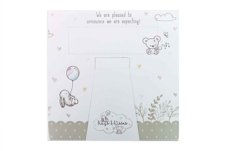 Baby Scan Schwangerschaft Ankündigung Decke Karten Andenken ...