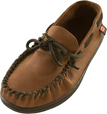 Wakonsun Men's Wide Width Brown Genuine