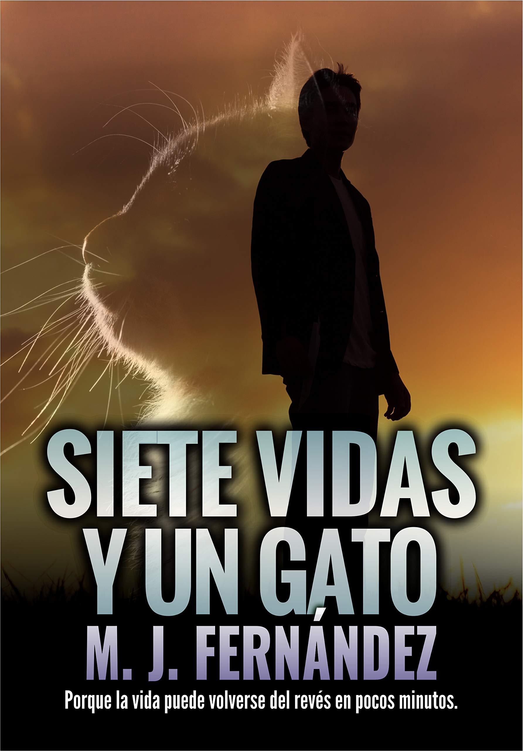 Siete vidas y un gato: (Inspector Salazar 07) Novela negra y policíaca por M.J. Fernández