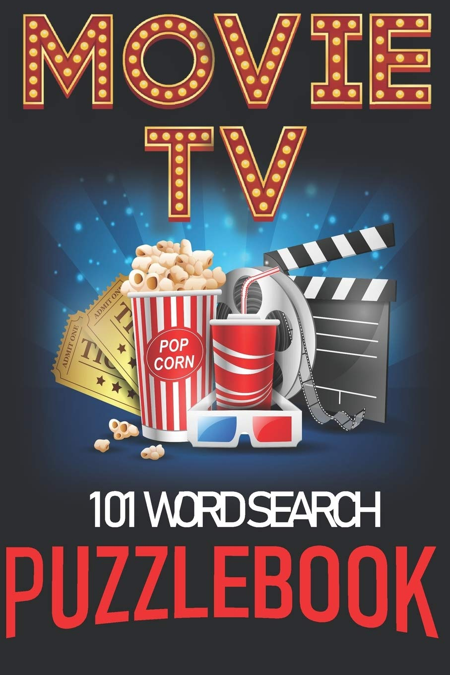 101 Word Search: 101 Puzzles Movie & TV Words. All Ages USA Edition. Gift this strange thing to friends, fans that marvel popular TV series and … fun activity time! (Movies & TV Word Search)