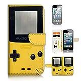 ( For iPhone 5 5S / iPhone SE ) Flip Wallet Case