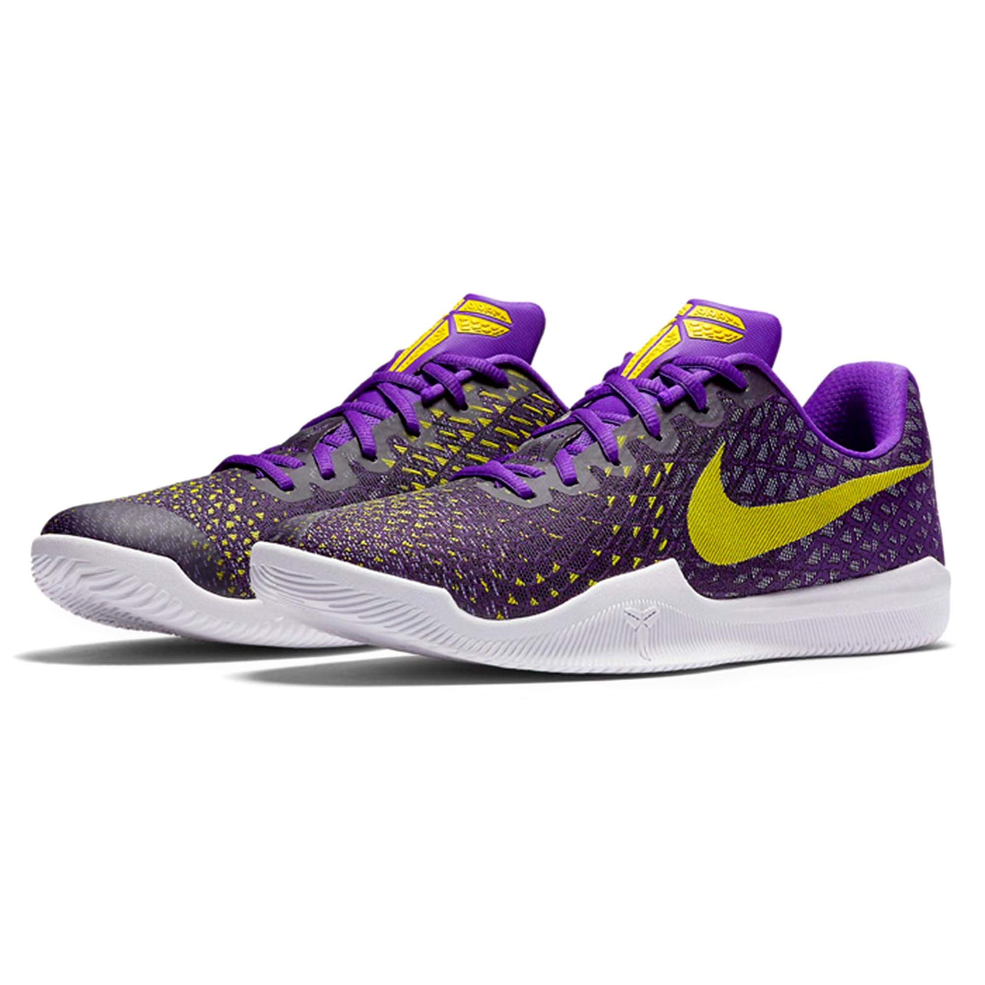 Nike Mens Mamba Instinct Low Top Lace Up Running Sneaker (8, Fierce Purple/Black)