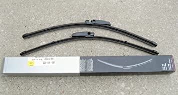 Genuine Factory OEM AUDI A S A S Windshield Wiper Blade Set Left - Audi a4 windshield wipers