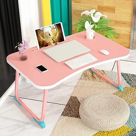 Bandeja de escritorio portátil Mesa plegable - Mesa pequeña en la ...