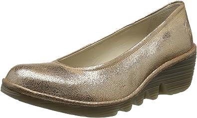 TALLA 39 EU. Fly London Pump, Zapatos de Tacón para Mujer