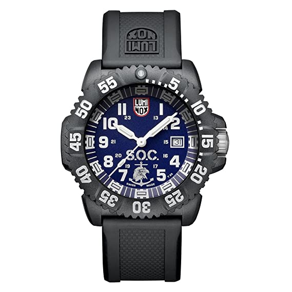 Luminox LSOC Luminox XS.3053.SOC.SET Reloj de Plásticolsera Cuarzo Hombre correa de Plástico Negro: Amazon.es: Relojes