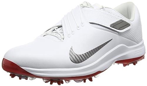 Nike Men's TW'17 Golf Shoes, White/MTLC
