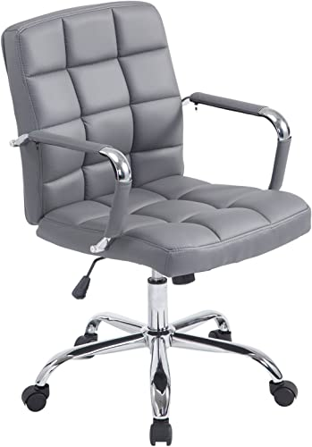 Poly and Bark Manchester Office Chair in Grey