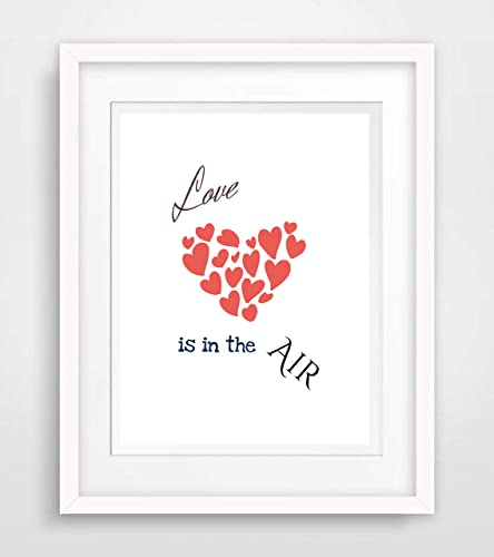 motto sprüche liebe Love is in the air   Motto Spruch  Leben Liebe Sprüche Fine Art  motto sprüche liebe