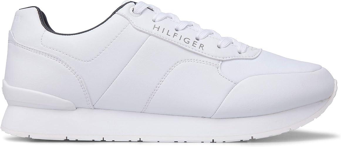 Tommy Hilfiger Uomo Scarpa Sportiva, Color Bianco, Marca