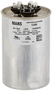 MARS - Motors & Armatures 12286 Mars 12286-40 + 5 uF MFD x 440 VAC Genteq Replacement Dual Capacitor