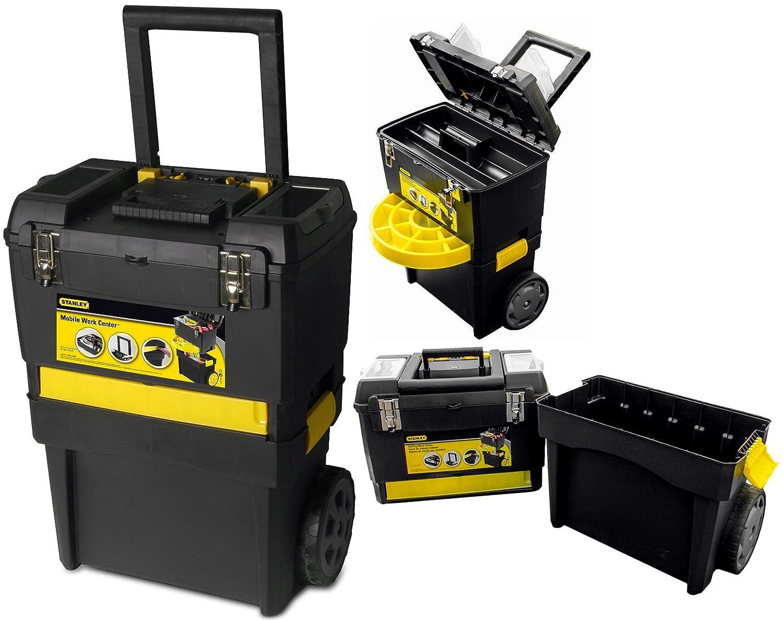 portauntensili 2 en 1 con ruedas Capacidad de carga 40 kg: Amazon.es: Bricolaje y herramientas