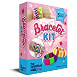 Premium Jewelry / Bracelet Making Kit for Smarter, Happier Children. Kids Crafts for girls 7+. Easy Craft Kits with 11 Bracelets.
