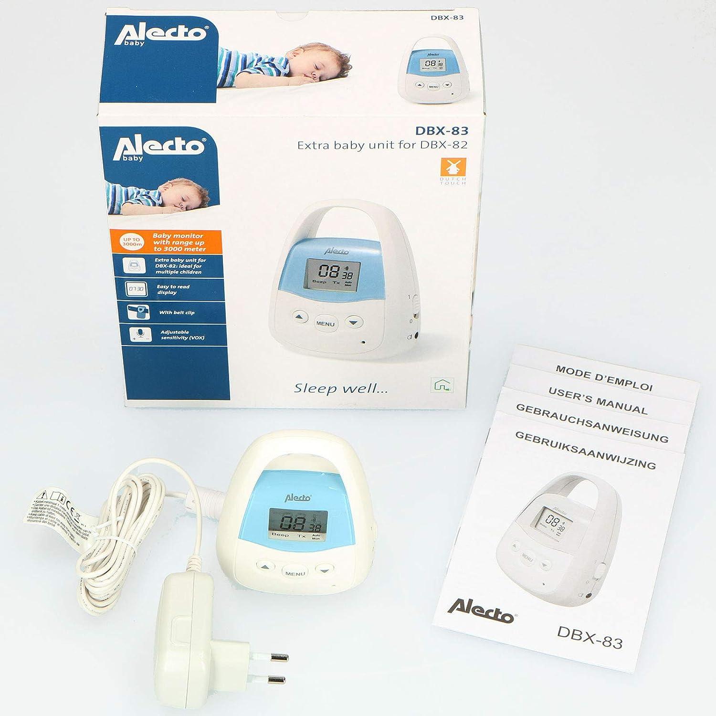 Intercomunicador beb/é Alecto Babyfoon DBX-83