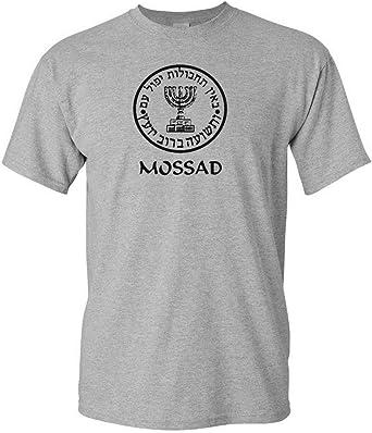 Le MOSSAD ISRAEL Intelligence Israël Service Secret Forces De Défense Israéliennes T-shirt à manches longues