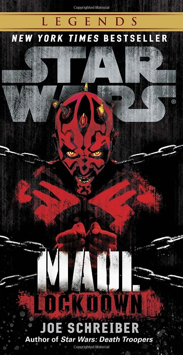 Amazon.com: Lockdown: Star Wars Legends (Maul) (9780345509048): Joe  Schreiber: Books