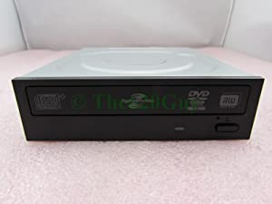 HP DVD±RW DL LightScribe SATA Black Optical Drive 581600-001 575781-500 DH-16AAL