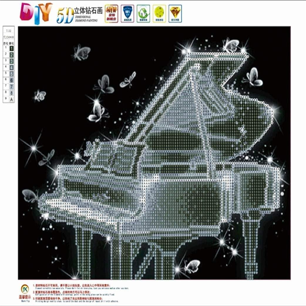 Einhorn 5D Diamond Painting Diamant Stickerei Malerei Bilder Kreuzstich Deko SL#