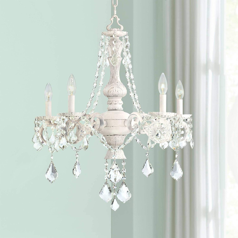 Kathy ireland chateau de conde 26 wide 5 light chandelier amazon com