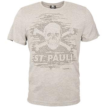 FC St. Pauli Camiseta TK Alegría Calavera Alegría Schöner Fútbol mágica, gris, XXXL: Amazon.es: Deportes y aire libre