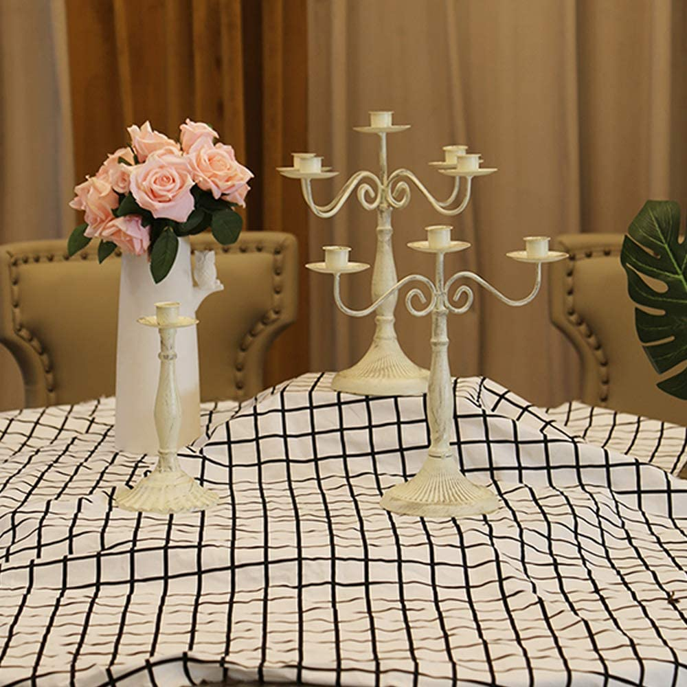 Wedding Home Decor Dinner Party GREENWISH 1/3/5 Arms Metal ...