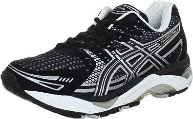 Amazon.com | ASICS Lady Gel-Evolution 6 Running Shoes - 11 - Black ...