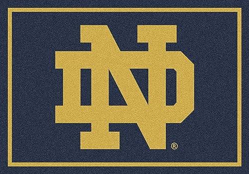 American Floor Mats Notre Dame Fighting Irish NCAA College Team Spirit Team Area Rug 5 4 x7 8