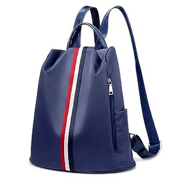 Bolsos mujer Mochilas tipo casual Bolsos bandolera Mochilas y bolsas escolares Women Backpack Waterproof Anti-Theft Daypack- Azul: Amazon.es: Equipaje