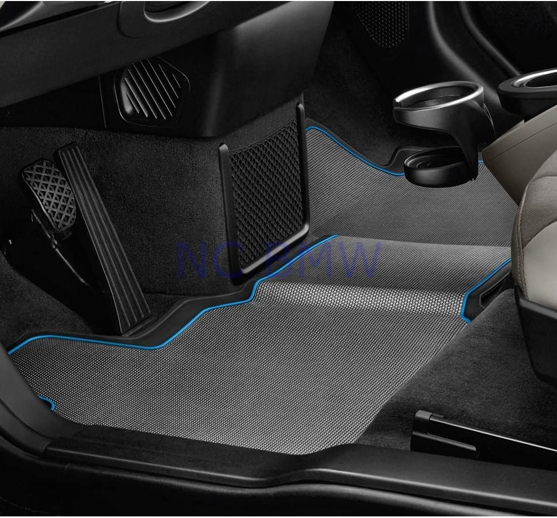 BMW Genuine Life Style i Series i3 i8 Model All Weather Floor Mats Rear
