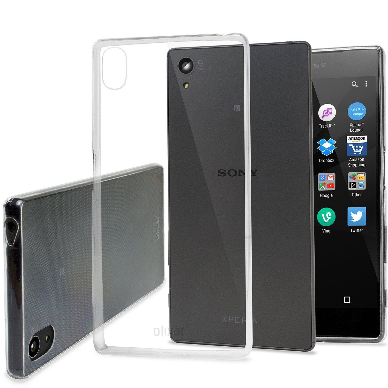 Case Ultrathin For Sony Xperia Z5 Clear Spec Dan Daftar Harga Imak Crystal 1st Series M4 Aqua Hardcase Transparant Olixar Flexishield Ultra Thin 100