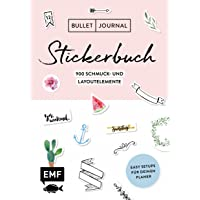 Bullet Journal – Stickerbuch: Band 1: 900 Schmuck- und Layoutelemente: Mit Tipps für dein Journal-Setup und 100 Vorlagen zum Abpausen