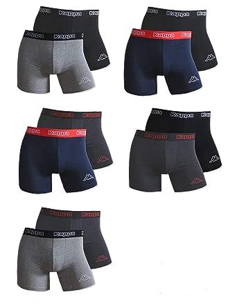 Kappa Boxershorts 6er Set Unterwäsche Boxershort Herren Boxer Short Sport Pants