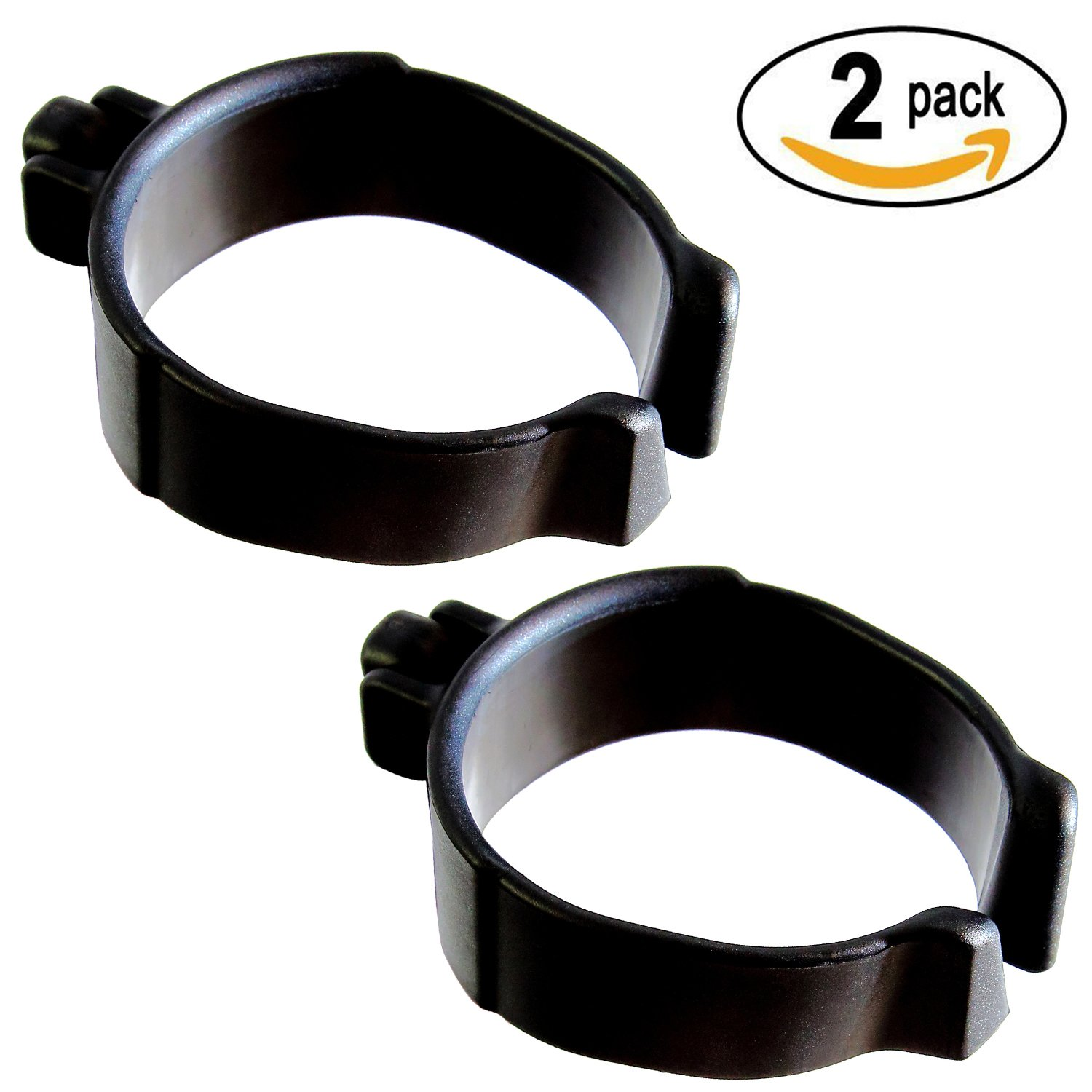 Millennial Medical In-Motion Forearm Cuff Black - size Large (4'') | Set of 2