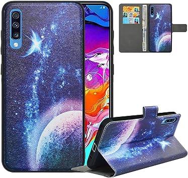 LFDZ Funda Samsung A70 2019,Fundas Galaxy A70 2019 de [2 en 1 ...