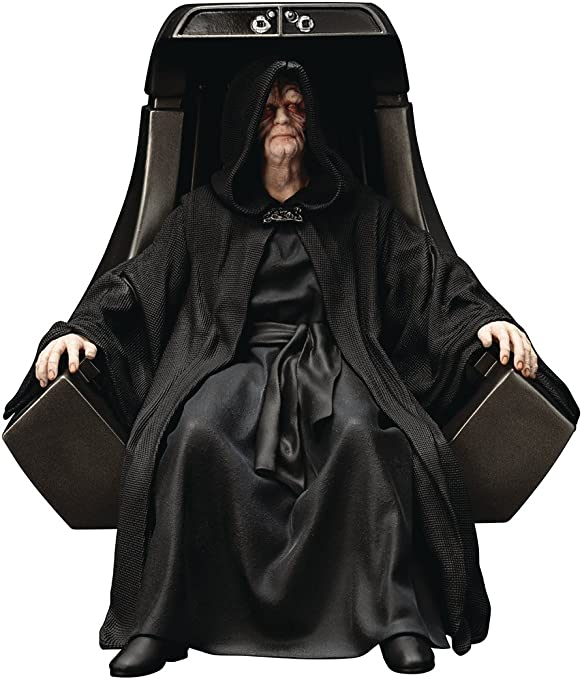 Kotobukiya ARTFX Star Wars Empereur Palpatine avec garde royale