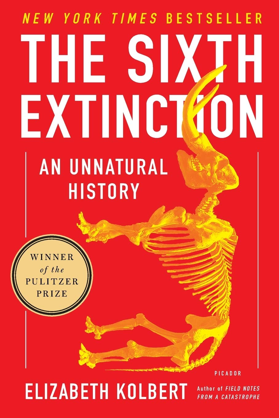 Sixth Extinction: Kolbert: 8601417202425: Amazon.com: Books
