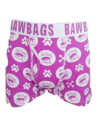 43698c799f BAWBAGS  THE DUGS BAWS  BOXERS Magenta L  Amazon.co.uk  Clothing