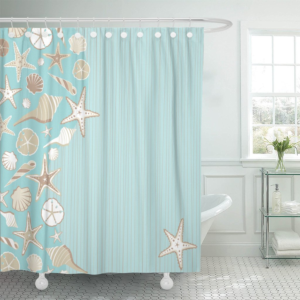 Top Best Nautical Shower Curtains Reviews in 2020 3