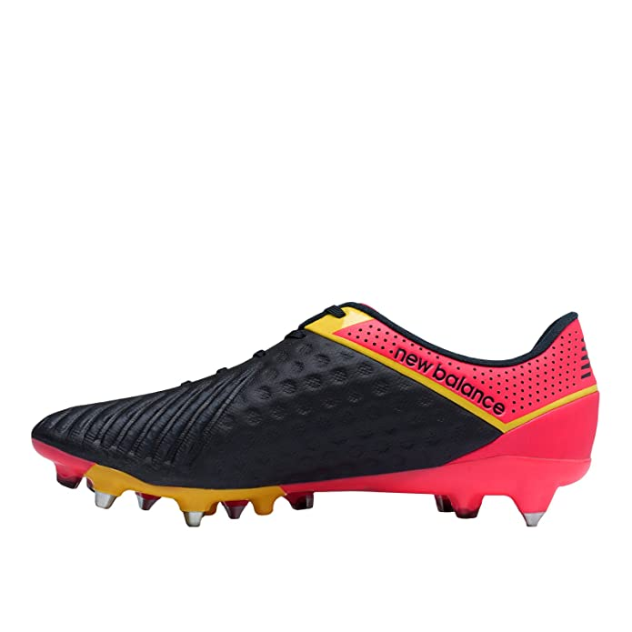 8764d6a86aac New Balance Visaro Pro SG Football Boots - Adult - Bright Cherry/Galaxy/ Firefly: Amazon.co.uk: Shoes & Bags