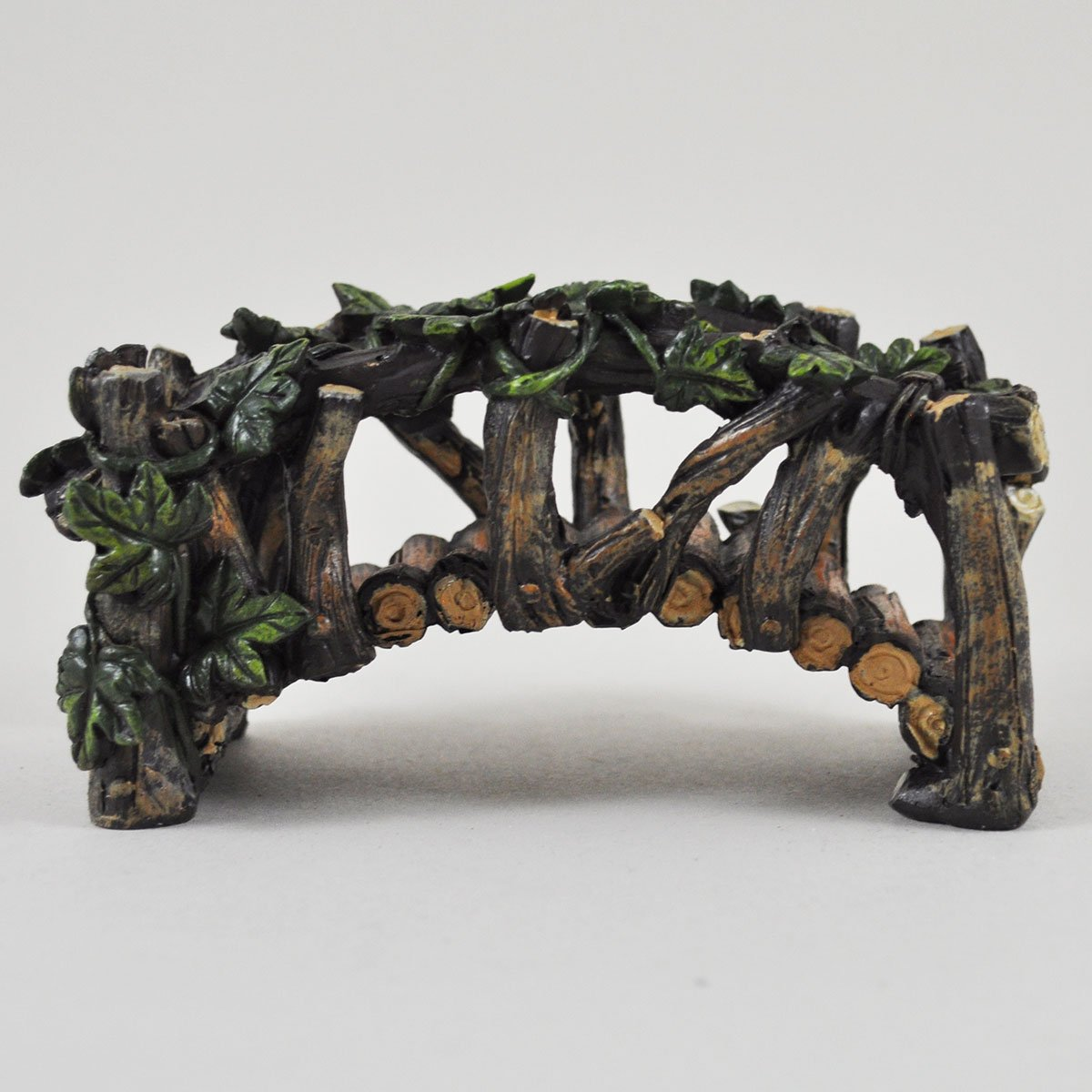 Fairy Garden UK Wooden Bridge Garden Miniature Home Decor - Fairy Elf Pixie Hobbit Magical Gift Idea - Length: 13cm Fiesta Studios