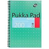 Pukka Pad Metallic Spiral Bound Jotta Notebook B5 Size Pack of 3 8520-MET