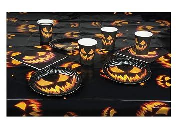 Erdbeerparty Halloween Dekoration Deko Tisch Set Aus 6