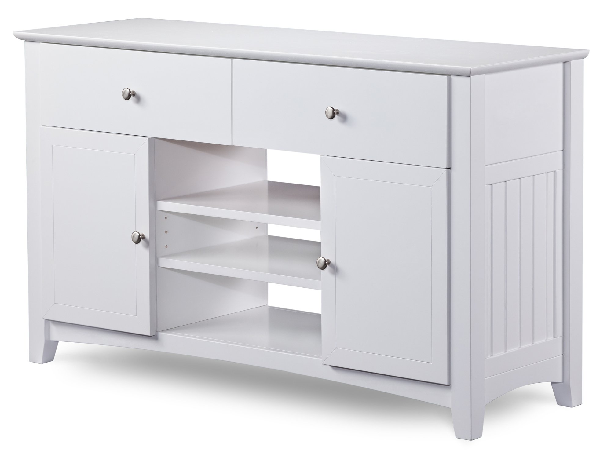 Nantucket 50'' Entertainment Console in White