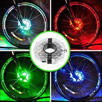 UMTELE 自転車タイヤ用ライト