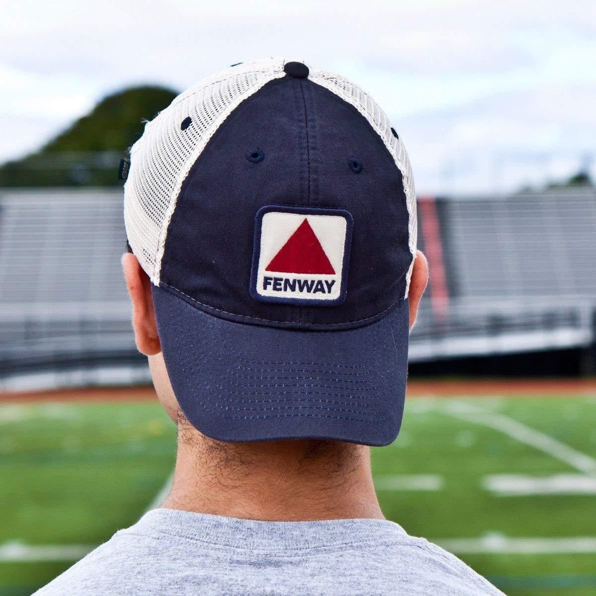 ce0b4c841 Chowdaheadz Fenway Patch Townie Mesh Trucker Navy Hat at Amazon Men's  Clothing store: