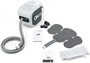 Ossur Cold Rush Therapy Machine System with Right Hip Pad- Ergonomic, Adjustable Wrap Pad Included- Quiet, Lightweight and Strong Cryotherapy Freeze Kit Pump