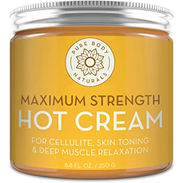 mini Capsaicin Powered Hot Cream - Natural Muscle Relaxer Cream for Sore Muscles